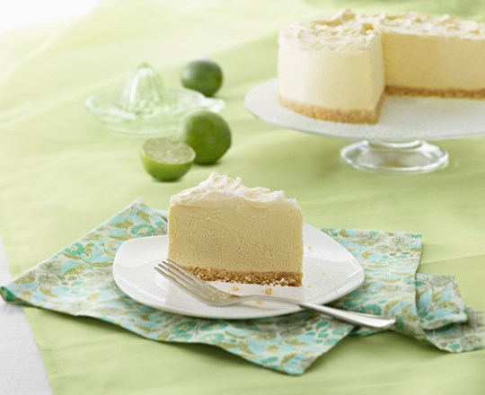 Creamy White Chocolate Lime Angel Cheesecake Recipe Philadelphia