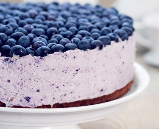 Image result for Blueberry Cheesecake: