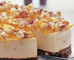 Coffee Liqueur & Hazelnut Cheesecake Recipe | PHILADELPHIA