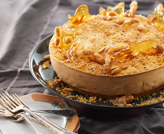Peanut Butter Cheesecake With Peanut Brittle Recipes — Dishmaps