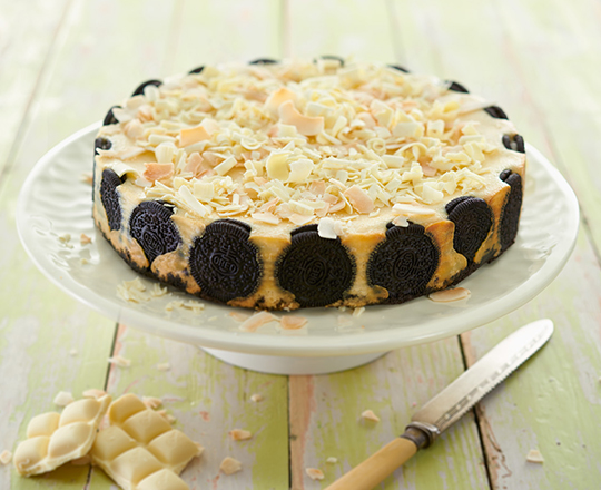 oreo white chocolate coconut cheesecake philly recipe philadelphia. Black Bedroom Furniture Sets. Home Design Ideas